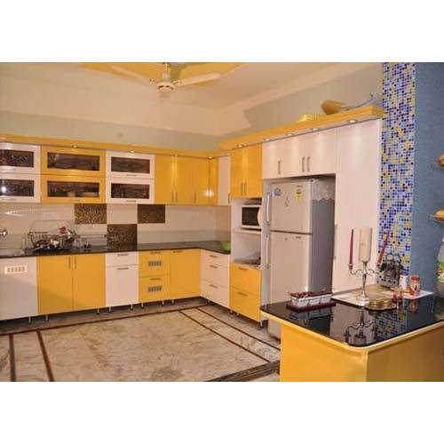 Pvc Modular Kitchen Manufacturer From: PVC Supreme Modular Kitchen, Rs 1450 /square Feet, Kitchen