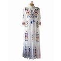 Mexican Bird Kaftan Dress