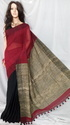 Khadi Saree With Gheecha Pallu