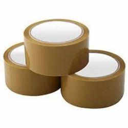 Brown Plain BOPP Tape, Packaging Type: Carton