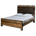 Sleeper Wood Bed