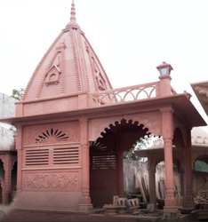 Red Sandstone Temple
