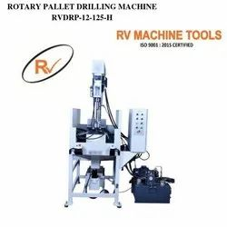 Auto Feed Rotary Pallet Drilling Machine 12mm