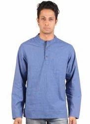 Linen Sleeves Pathani Long Kurta