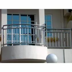 Stainless Steel Balcony Fabrication Service