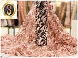 Exclusive knotted Fabric