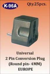 K- 96A Universal 2 Pin Conversion Plug