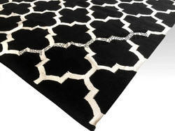 SGE Geometical Cotton Jacquard Rugs