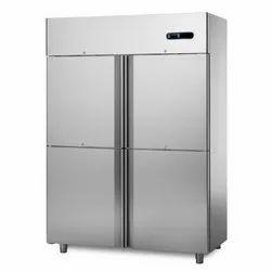 Double Door SS Refrigerator