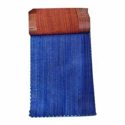 Formal Wear Blue Polyester Viscose Fabrics, For Garments, GSM: 50-100 GSM