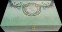 Wedding Invite Box In Flower Pattern