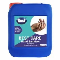 Hand Rub/Sanitizer, 25 Ltr Can Packing