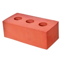 Rectangular Red 3 Hole Bricks for Partition Walls
