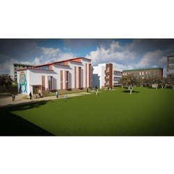 Project Based Institute Exterior Designing Services