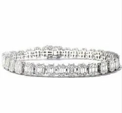Diamond Radiant Bracelet