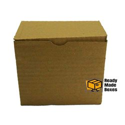 3.2 x 3.2 x 2.4 Inch Tuck Brown Corrugated Box