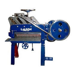 Lal Sons Mild Steel Used Paper Cutting Machine