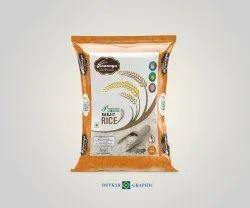 BOPP Printed Basmati Rice Bag