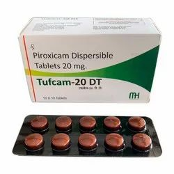 Piroxicam Dispersible Tablets