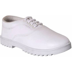 Kids White Formal Shoes
