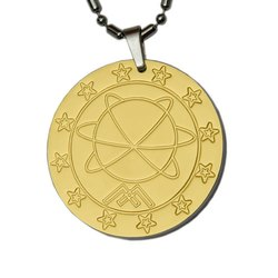 Gold Mst Pendant With Box And Energy Card