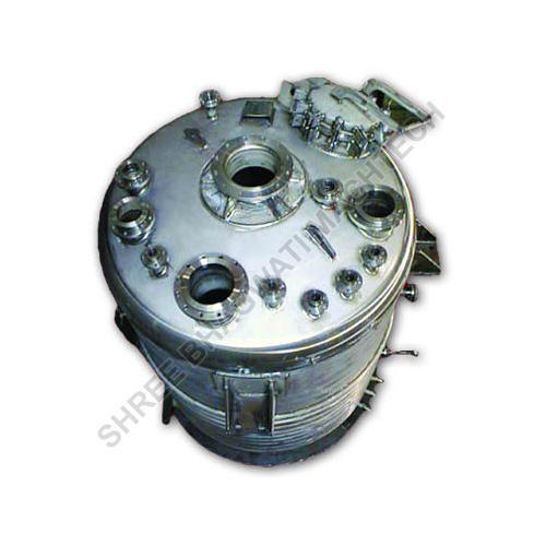 Reactor Vessel Cylindrical Type, Capacity: 1000-10000L
