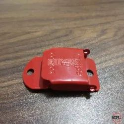 Mild Steel Square Buckles Red