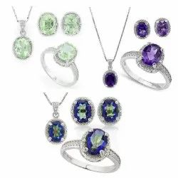 Wholesale Handmade Natural Gemstone Jewelry Pendant Earring Ring Jewelry With Good Price