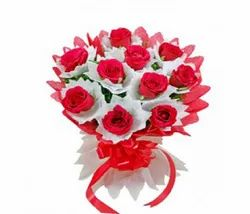 Red Fresh Valentine Rose Bouquets