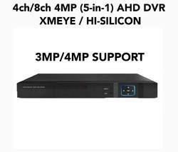 4MP 4CH/8CH/16CH AHD DVR XMEYE 5IN1