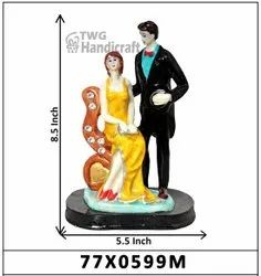 Wedding Anniversary Couple Statue