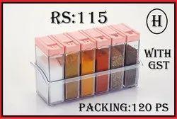 6pc Spice Jar