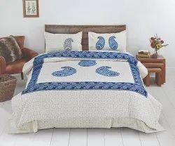 Paisley Print Bedsheet for Double Bed