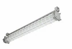 4 Ft Frame Aluminum Crompton CMRI Certified LED Flameproof Tubelight Fixture 8 Watts