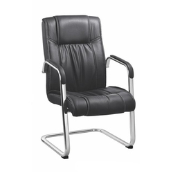 SPS-254 Workstation Black Leather Chair