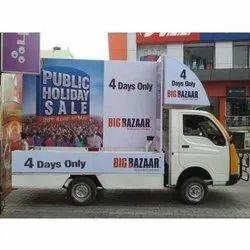 Led Screen Banner Mobile Vans Advertisement Services, Offline