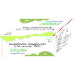 Mefenamic Acid Dicyclomine Acetaminophen Tablet