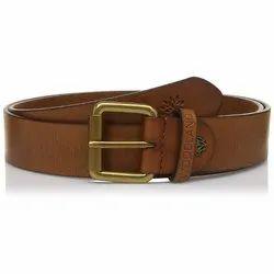 Woodland BT 1072041 Tan Men's Leather Belt