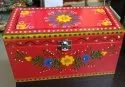 Wooden Hand Painted Bangle box