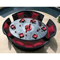 Round Living Dining Table
