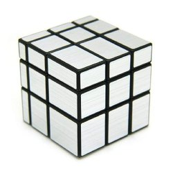 Silver Mirror 3x3 Stickerless Cube