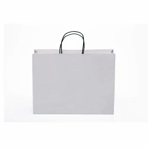 White Plain Paper Bag