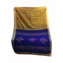 Cotton Handloom Saree, 6 M With Blouse Piece