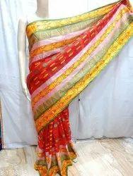 Style expert Jacquard Cotton Sarees, Without Blouse, 5.5 m