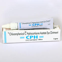 Chloramphenicol 1.0% Hydrocortisone Acetate 0.5% Eye Ointment