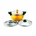 Stovekraft Yellow Ceramic 5L Pressure Cooker