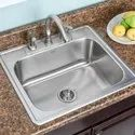 22x 18x 9 Stainless Steel Oval Bowl Kitchen Sink