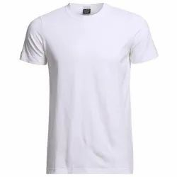 SARINA White Silk T-Shirt, Size: Large, Age Group: 18 Over