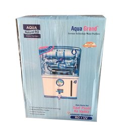 ABS Plastic Wall-Mounted Aquagrand RO Water Purifier, Capacity: 15-20 LPH