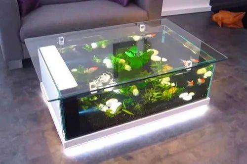 Aquarium Coffee Table.Led Coffee Table Aquarium